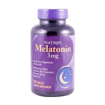 Natrol Melatonin 3mg 240 Tablets
