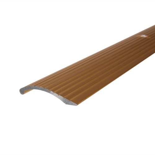 Columbia 6112 HG 3ft Carpet Bar-Deluxe, Gold
