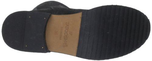 Noir negro Femme Cass Tatoosh Boots qB70tp