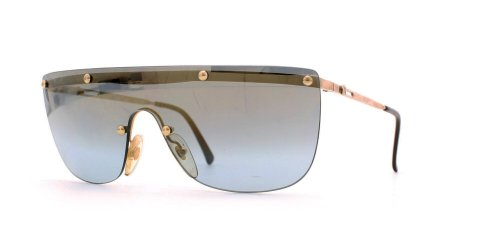 Playboy 4674 40 Gold Authentic Men - Women Vintage - Playboy Sunglasses