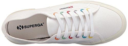 Medium 2750 Sneaker Women's Coloreyecotu White Multi White Superga RaTxwq