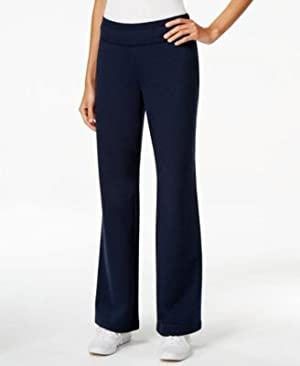 Style Co. Flare-Leg Knit Pants, Only at Deep Black S
