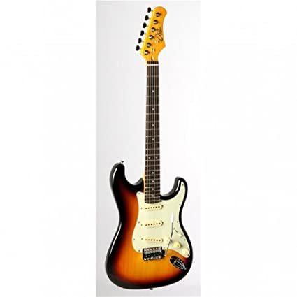 Guitarra eléctrica Eko S-300 V Vintage Sunburst Fender Stratocaster: Amazon.es: Instrumentos musicales