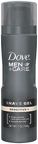 Dove Men+Care Shave Gel, Sensitive Plus 7 oz (Pack of 7)
