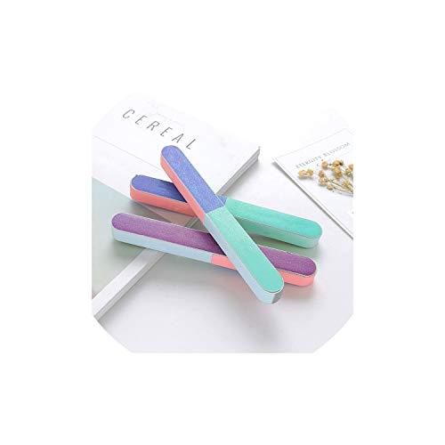 (Nail File 1Pc 6 Sider Nail Files Brush Durable Buffing Polishing Nails File Nail Art Tool Sanding,Random Color 1Pcs)
