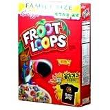 ケロッグ Froot Loops フルーツループ マルチグレイン・シリアル <1箱> [並行輸入品]