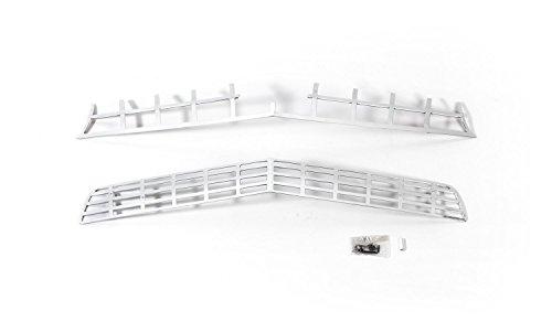 Aluminum Liquid Grille - Putco 91160 Liquid Mirror Solid Aluminum Billet Grille for Chevrolet Camaro