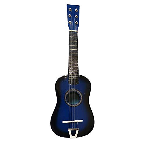 Toy Musical Instrument for Kids | String Acoustic Guitar w/ Tuning Knobs |Top Birthday Gift for Boys & Girls! | Rock 'n Roll Classic Guitar | Perfect for Beginners | Educational Toys 6+ (Blue)