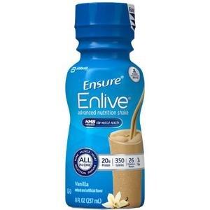 Ensure Enlive (formerly ''Complete'') Vanilla 24/8-Fl-Oz Bottle - 1 Case Of 24