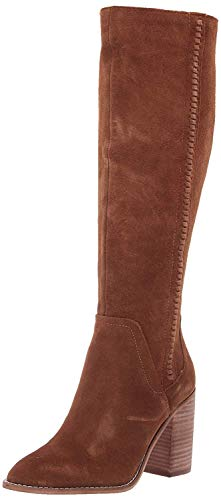 Steve Madden Women's Roxanna Fashion Boot, Chestnut Suede, 10 M US