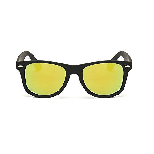 De Forepin UV400 Oro Sol Protección Marco Grande Gafas Polarizado Pqc4PgF1