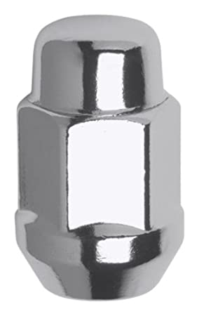 Gorilla Automotive 30027 Acorn Bulge Seat Lug Nuts (12mm X 1.25-Open End Thread Size)