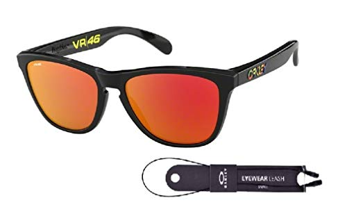Oakley Frogskins OO9013 Sunglasses For Men+BUNDLE with Oakley Accessory Leash Kit