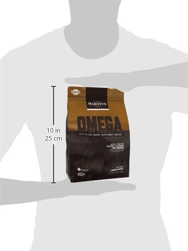 Picture of Majesty's Omega Wafers - Skin & Coat therapy for horses - 60 count bag