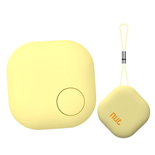 Key Finder Anti-lost Tag FANTASIA Bluetooth Cell Phone Wallet Bags Pet Tracker Nut 3s Locator with App Control for iPhone / iPod / iPad / IOS Android Devices (Yellow) by Nut