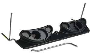 BOB Infant Car Seat Adapter For Duallie Strollers, Black (For Older Stroller Models)