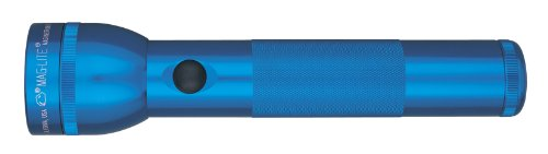 (Maglite LED 2-Cell D Flashlight, Blue)