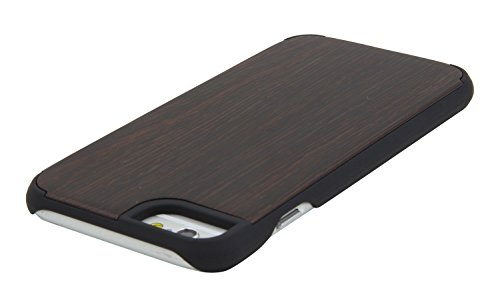 LEAPCOVER®, madera de bambú natural hecho a mano de piel cubierta de la caja para iPhone 6 (4,7 pulgadas), compatible con iPhone 6