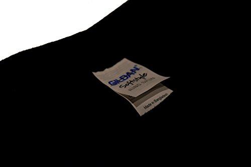 5 Pack GILDAN Softstyle Männer Herren Arbeitskleidung T-Shirts brandneue Großhandel T-Shirts , alle Farben und Größen (XL Mens 44-46 Inch Chest, Black)