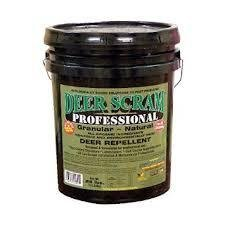Deer Scram Professional Grade 25lbs. Granular Deer Repellent Industry Leader by EPIC