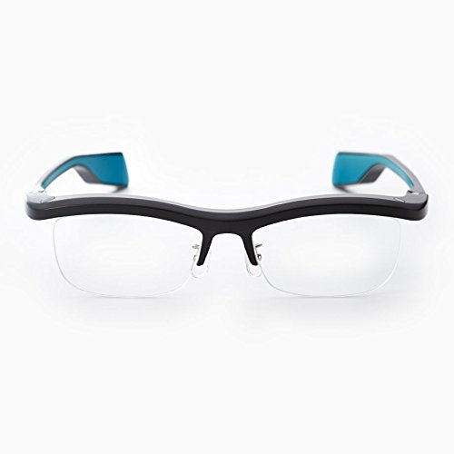 FUN'IKI Glasses (Black/Blue) by Namae-Megane Inc.