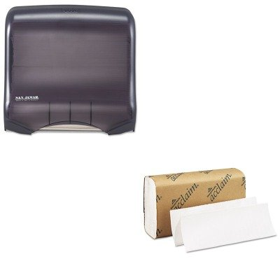KITGEP20204SJMT1750TBKRD - Value Kit - Georgia Pacific Folded Paper Towel (GEP20204) and San Jamar Ultrafold Towel Dispenser (SJMT1750TBKRD)