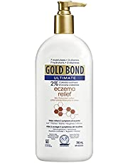 Gold Bond Ultimate Eczema Relief Skin Protectant Lotion, 396 mL, Relief of Itchiness, Dryness, Rashes, Roughness & Irritation, Dermatologist Tested, Hypoallergenic, Fragrance & Steroid Free