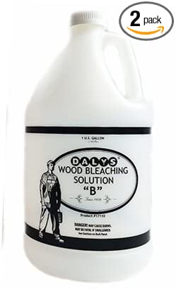 Daly's Wood Bleach Solution, Solution B, 1 Gallon, Pack of 2