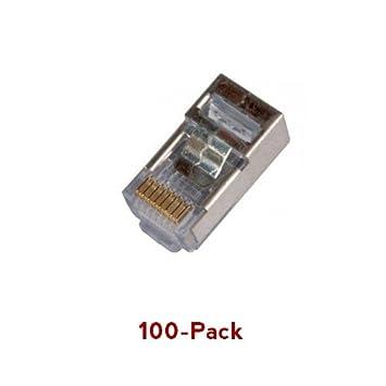 EZ RJ45 Stecker, geschirmt, Kabel: Amazon.de: Elektronik