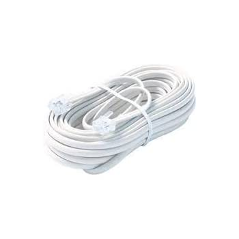 Amazon.com: Trisonic Telephone Extension Cord Phone Cable Foot, 50ft ...
