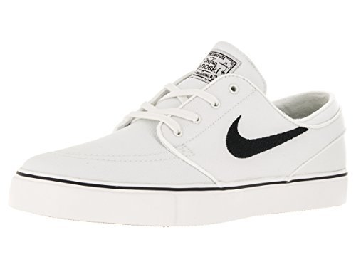 sale retailer 71f7c 37c56 Nike Men s Zoom Stefan Janoski Cnvs Summit White Black Skate - Import It All