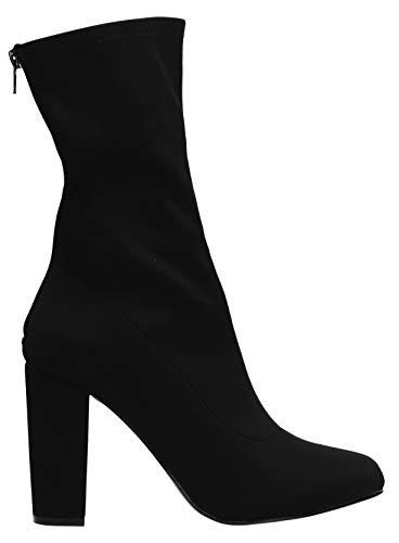 Swankyswans Boots Sock Black Womens Gail z0Snz4
