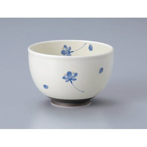 Ramen Soba Udon Noodle Bowl utw406-12-694 [5.2 x 3.4 inch] Japanece ceramic Cherry dance lightly (blue) your favorite bowl tableware