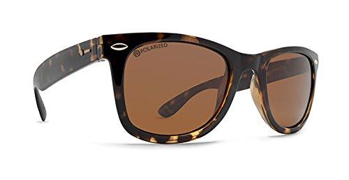 (Dot Dash Plimsoul Adult Polarized Sunglasses, Tortoise/Bronze)