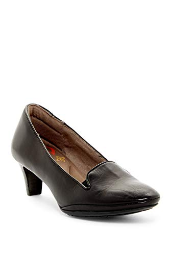 Comfortiva Womens Tilly Closed Toe Classic Pumps, Black, Size 6.5