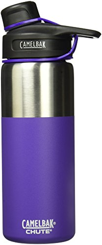 CamelBak (1287501060) Chute Vacuum Insulated Stainless Water Bottle -  Violet, 20 oz