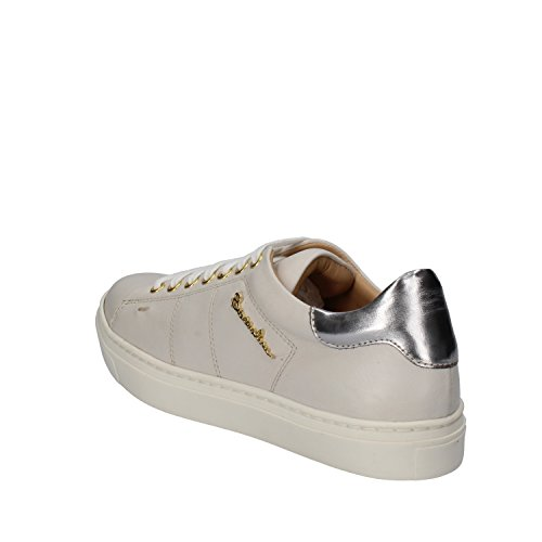 Women's Silver 7 Sneakers Gray 37 US AE544 EU Braccialini Leather UxCSdwUq