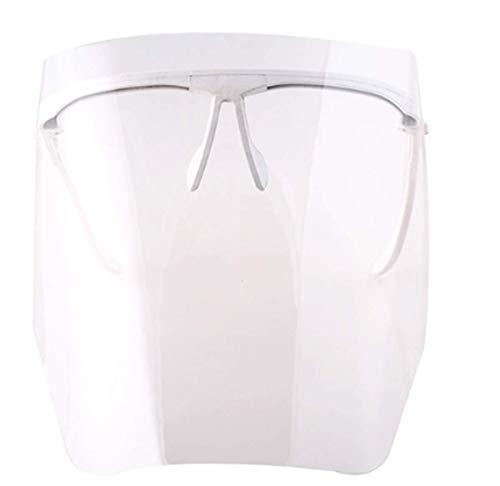 Fencia Eyewear Type Adjustable Full Face Shield with 10 Detachable Visors