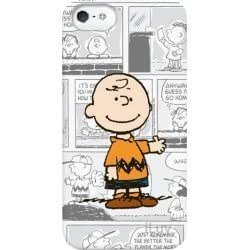 iLuv iCA7H386 Peanuts Graphic Case for iPhone 5 (Charlie Brown) - 1 Pack - Retail Packaging - White