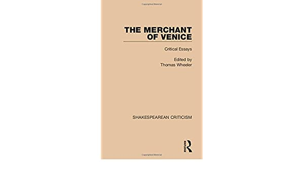 merchant of venice essay