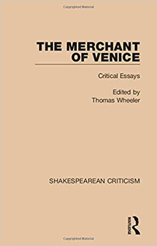 Amazoncom Shakespearean Criticism The Merchant Of Venice  Shakespearean Criticism The Merchant Of Venice Critical Essays Volume   St Edition Sample Essay Thesis also Proposal Essays  College English Essay Topics