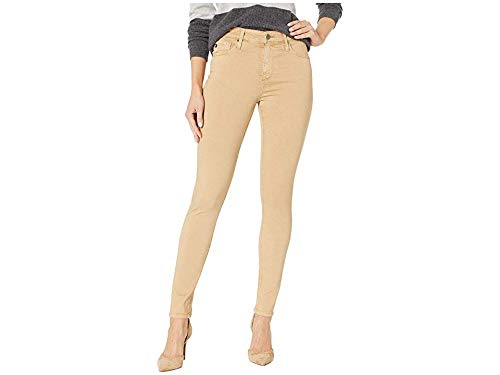 AG Adriano Goldschmied Women's Farrah Skinny Ankle in Sulfur Toasted Almond Sulfur Toasted Almond 31 28