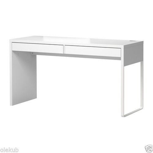 Ikea White Office Desk With Drawers