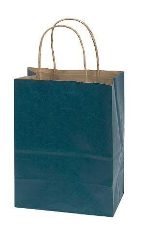 "Medium Navy Blue Paper Shopper, • 8"" X 4 ½"" X 10 ¼"" (Cub) • 70# Paper Weight , • Case of 25 Offer Your Customers a Convenient Way to Carry Home Their Purchases with Our Navy Blue Paper Shopper! In These Navy Blue Paper Shopping Bags, Your Customers Will Be Able to Take Home a Variety of Purchases. Add Tissue Paper, Ribbon, or Raffia and Transform These Shopping Bags Into Gift Bags to Show Your Customers That You Truly Appreciate Their Business. Designed with Twisted Rope Handles, Side Gussets, and Tear Resistant Paper, These Durable Shopping Bags Will Conveniently Stow Away Behind the Checkout Counter. (Shoppers Cub)"