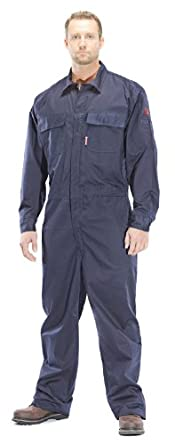 Benchmark Flame Resistant Featherweight Coverall, Cotton, HRC 1