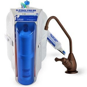Pelican 6-Stage Reverse Osmosis RO Water Purifier System with Bronze Faucet by Pelican Water Systems