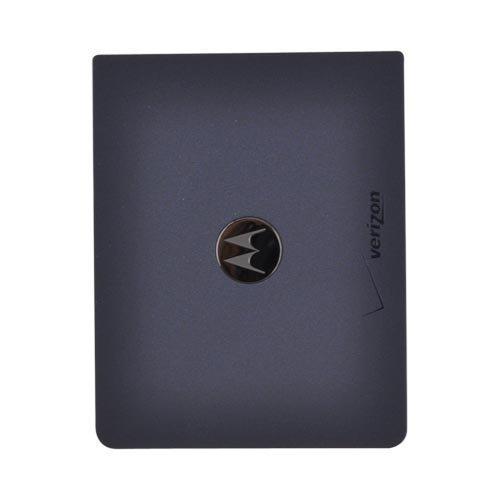 (For Motorola Droid 2 A955 Rubberized Battery Door BLUE)