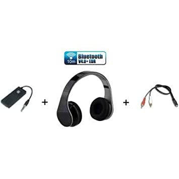 extrastar Kit Auriculares INALAMBRICOS Bluetooth BT para TV