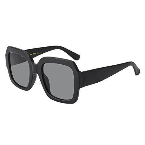 (Frame Inspired Black Sunglasses)