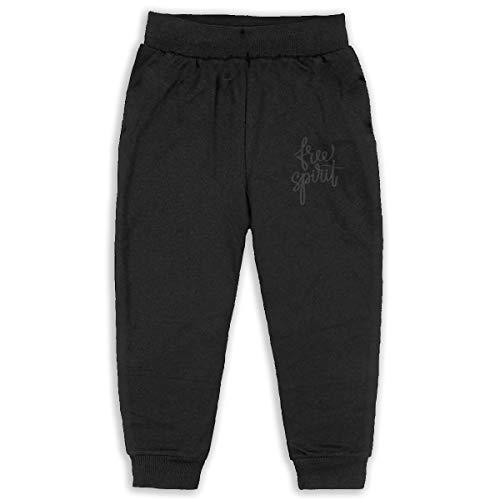 DaXi1 Free Spirit Sweatpants for Boys & Girls - Fleece Active Joggers Elastic Pants ()